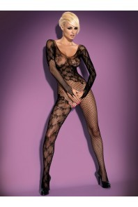 Bodystocking F210 - body z rajstopami